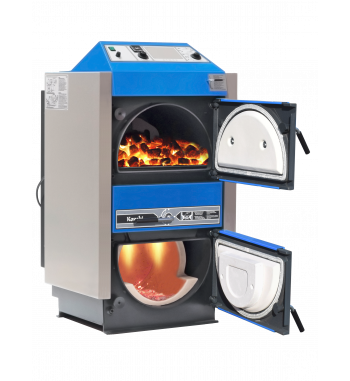 Cazan pe combustibil solid Atmos C40S - 2