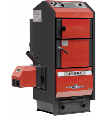 Cazan pe combustibil solid Atmos D40P