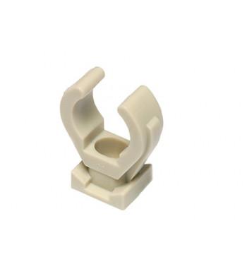 Clema simpla din plastic cu curea PPR Ekoplastik gri 40 PRP040 Ambalaj: 1/50