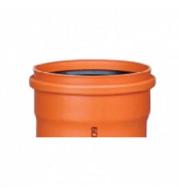TEAVA CANALIZARE PVC KGEM SN2 110X2.2  1m  VP