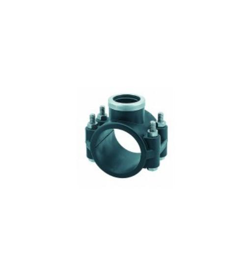 "Colier bransare asigurat polietilena STP 90X3/4"""
