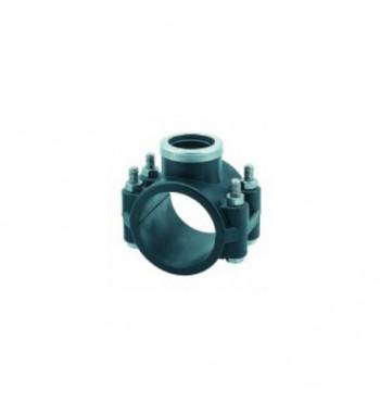 "Colier bransare asigurat polietilena STP 125X3/4"""