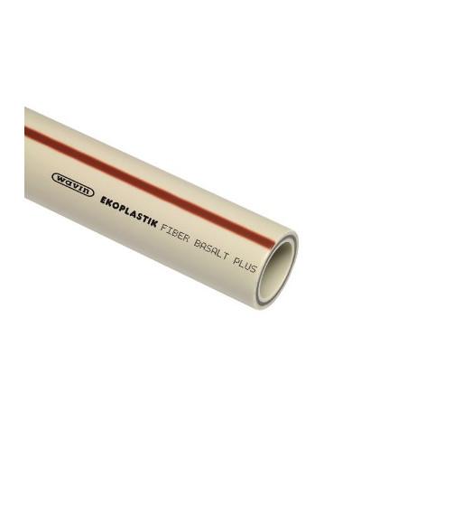 Teava FIBER BASALT PLUS, gri, cu fibra de bazalt 50x6,9x4000 mm