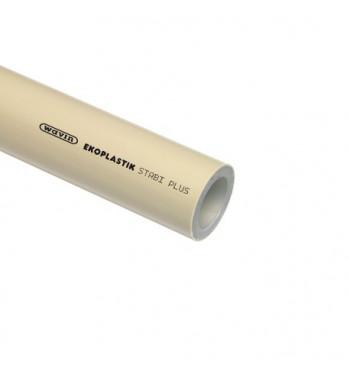 Teava PPR gri cu insertie aluminiu STABI PLUS 40X5.5X4000 mm, PN20