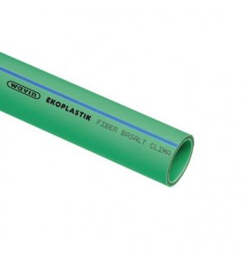 Teava PP-RCT FIBER BASALT CLIMA 25X2.8X4000 mm S4