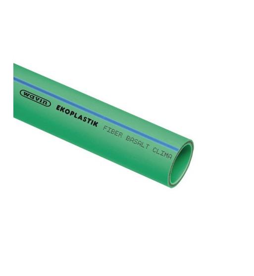 Teava PP-RCT FIBER BASALT CLIMA 75X6.8X4000 mm S5