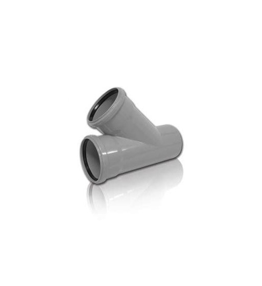 Ramificatie PVC-KA 110/50X45°