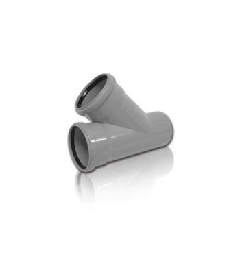 Ramificatie PVC-KA 110/110X45°