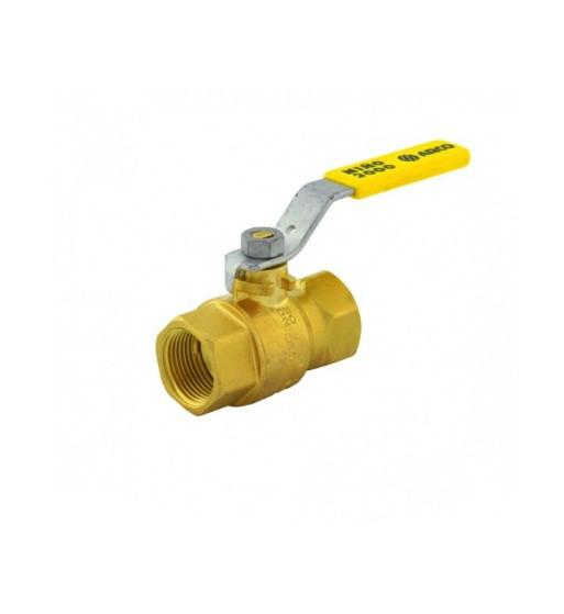 """ROBINET GAZ MINO M-M 3/4"""" MANETA  P0103"""