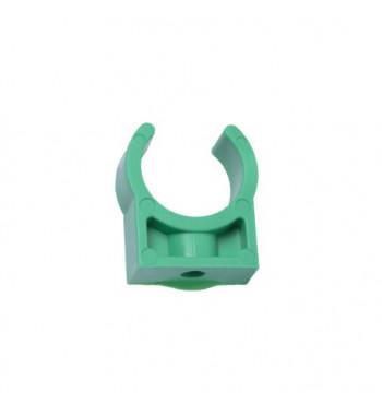 Clema plastic verde 32