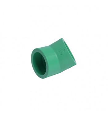 Cot PPR verde int.- int. 25X45°