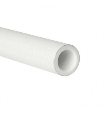 Teava PPR Sanica alb cu insertie aluminiu PN25, 20X3.4X4000 mm