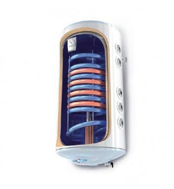 Boiler mixt vertical BiLight 120 l. 2 serpentine, de perete