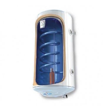 Boiler mixt vertical BiLight 100 l. 1 serpentina, de perete