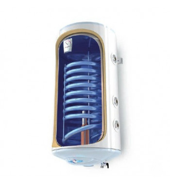 Boiler mixt vertical BiLight 80 l. 1 serpentina, de perete