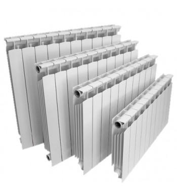 Radiator aluminiu Lipovica Solar 600/80 cu 8 elementi