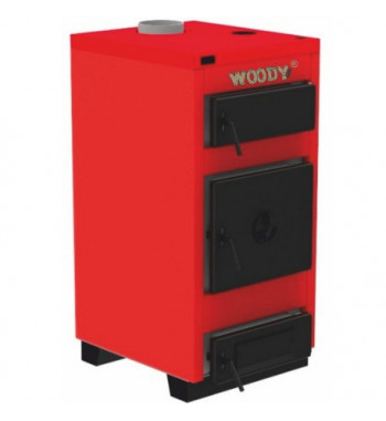 Cazan Woody 23 kW, cu functionare pe combustibil solid