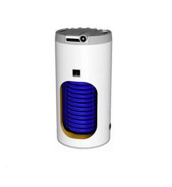 Boiler de sol indirect DZD OKC, 1 serpentina, 160 L, racorduri pe partea superioara, fara flansa