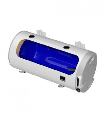 Boiler de perete orizontal electric DZD OKCV, 160 L, racorduri pe stanga