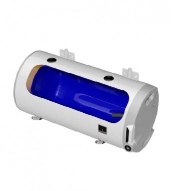 Boiler de perete orizontal electric DZD OKCV, 125 L, racorduri pe stanga