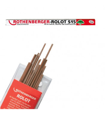 Aliaj pentru lipire tare Rothenberger tip Rolot 2x2.2mm