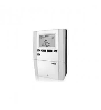 Regulator solar SGC16 cu 2 senzori de temperatura, regulator digital pentru comanda unui circuit de preparare ACM