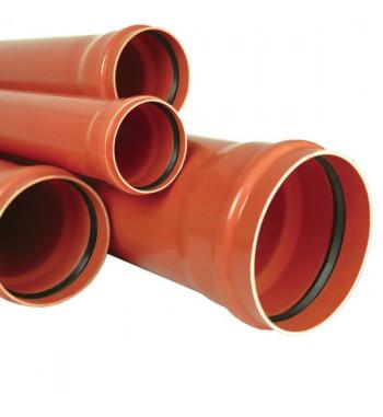 Teava PVC-KG, SN4 DN 125- 3000 mm