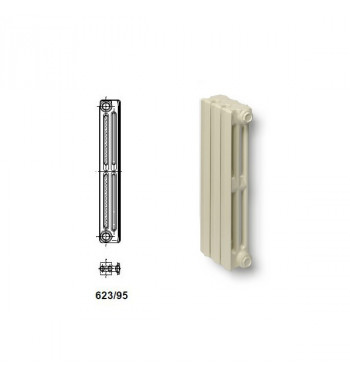 Element radiator fonta Viadrus Termo 623/95 racordare 1""