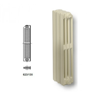 Element radiator fonta Viadrus Termo 623/130 racordare 1""
