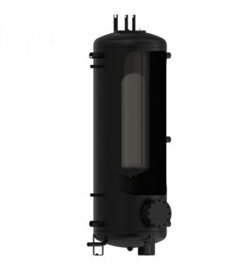 """Rezervor de acumulare DZD izolat cu flansa 500L sau racord de 6/4"""" si boiler ACM incorporat 200L NADO V1"""