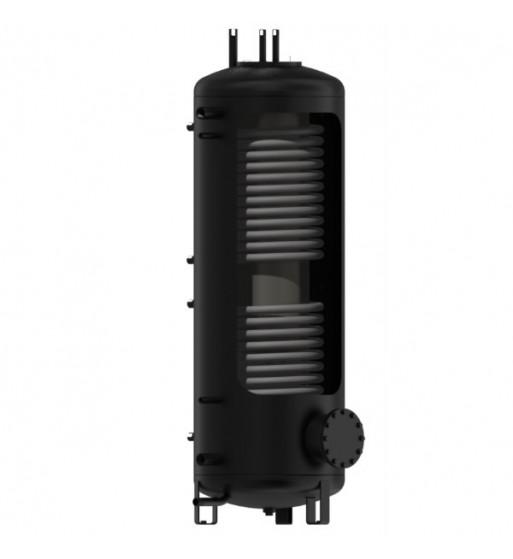 Rezervor de acumulare DZD izolat cu flansa 500L, 2 serpentine si boiler ACM incorporat 100 L NADO V3