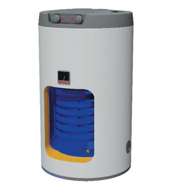Boiler de sol mixt DZD OKCE, 1 serpentina, 100 L, element incalzitor electric (2.2 kW) incorporat in flansa
