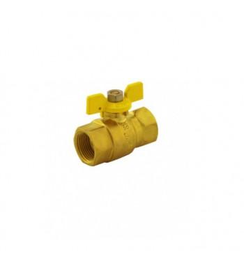 """ROBINET GAZ MINO M-M 1"""" FLUTURE   PM104"""