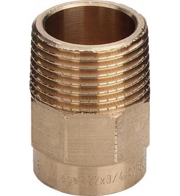 "Adaptor bronz Viega int.- ext. 22x1"" 100889"