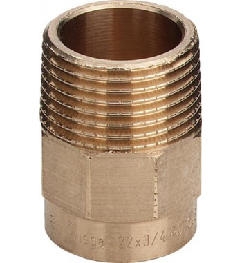 "Adaptor bronz Viega int.- ext. 15x1/2"" 100025"